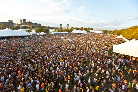 Photo of Randall's Island, venue for Electric Zoo
