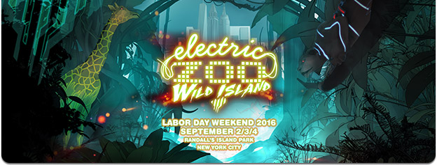 Electric Zoo: Wild Island. Sept 2-4, 2016. Randall's Island Park, New York City