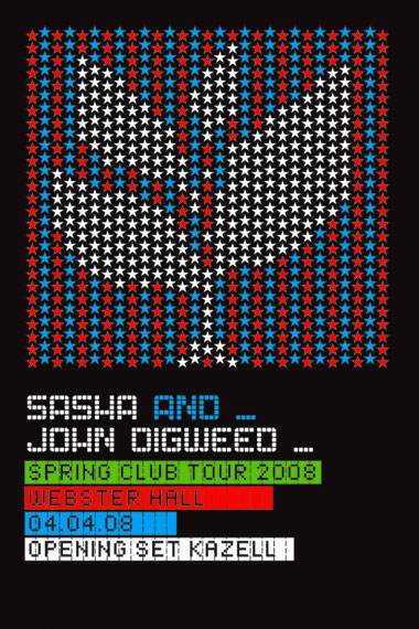 Sasha and John Digweed, April 4, Webster Hall