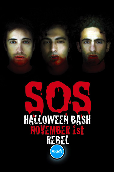 SOS Halloween Bash, November 1, Rebel