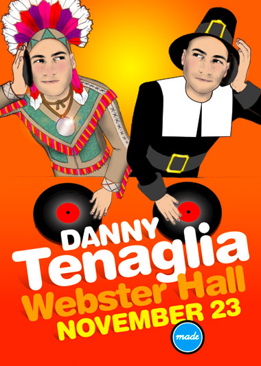 Danny Tenaglia, November 23, Webster Hall