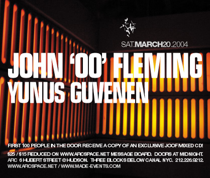 JOHN 00 FLEMING at arc flyer