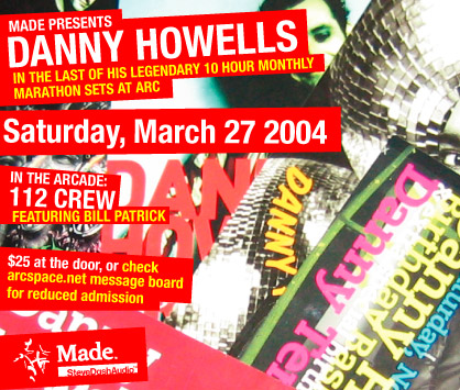 DANNY HOWELLS at arc flyer