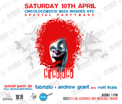 CIRCO LOCO at arc flyer