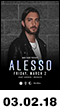 03.02.18: Alesso at Avant Gardner
