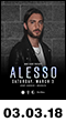 03.03.18: Alesso at Avant Gardner