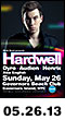 05.26.13: Hardwell with Dyro, Audien, Henrix, and Alex English at Governors Beach Club