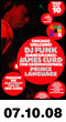 07.10.08: DJ Funk and James Curd at Santos Party House
