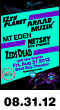 08.31.12: 12th Planet, Araabmuzik, Mt Eden, Netsky with Dynamite, Zeds Dead