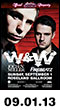 09.01.13: Electric Zoo Official Afterparty - W&W, Jochen Miller, Firebeatz, Zack Roth at Roseland Ballroom