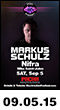 09.05.15: Electric Zoo Official Afterparty: Markus Schulz, Nifra, Mike Saint-Jules at Pacha