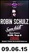 09.06.15: Electric Zoo Official Afterparty: Robin Schulz, Sam Feldt, Steve Powers at Pacha